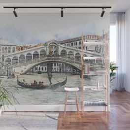 Venice Italy Canal 1 Wall Mural