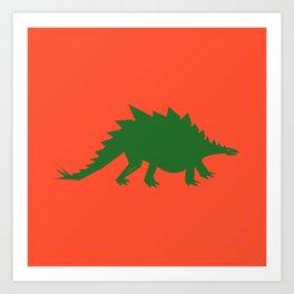 Simplesaurs: Steg Art Print