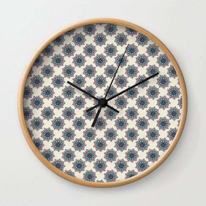 Morrocan Mandala Wall Clock