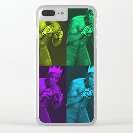 D I F F E R E N T B O X E $ Clear iPhone Case
