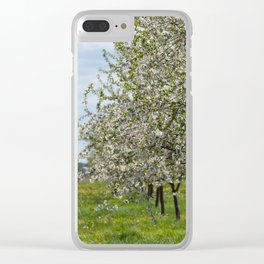 Blossom Time Clear iPhone Case