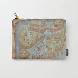 Super Mario World Map (Vintage Style) Carry-All Pouch