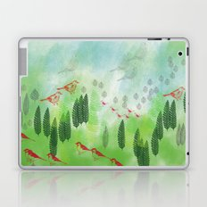 She Always Let Her Mind Wander Laptop & iPad Skin