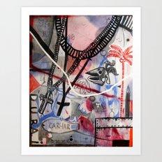 tela1 Art Print