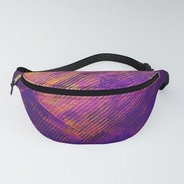 Purple and Orange Stripes Fanny Pack