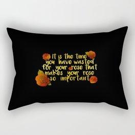 rose #1 Rectangular Pillow