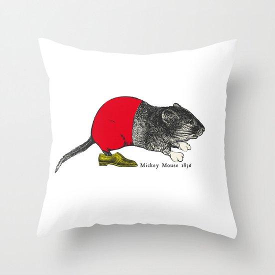 études - Mickey Throw Pillow