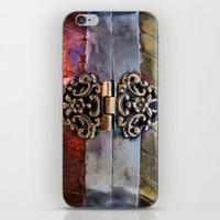 katniss iPhone & iPod Skins featuring Katniss by The Brass Clasp