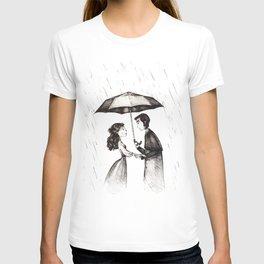 lovers under the rain T-shirt