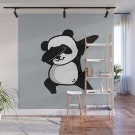 Dabbing Panda Wall Mural