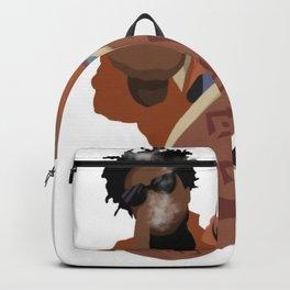 Brent Faiyaz illustration Backpack