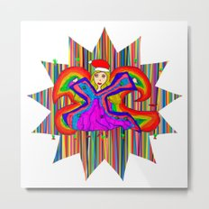 Star Fairy | Christmas Spirit Metal Print
