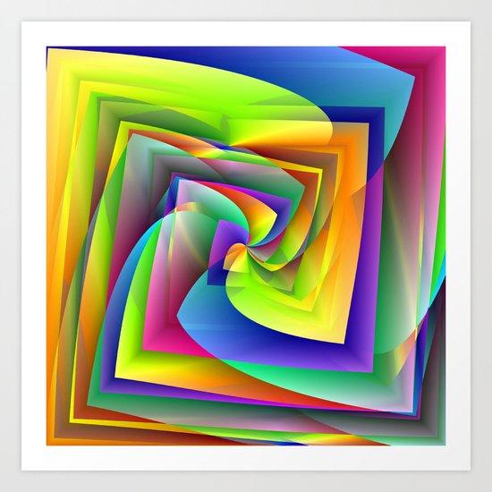 Vibrant Vision Art Print