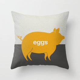 Eggs/Bacon Throw Pillow
