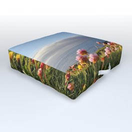 Ocean flowers Outdoor Floor Cushion