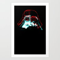 darth Art Prints featuring DARTH by JACK TUB