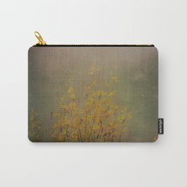Vintage flowering bloom Carry-All Pouch