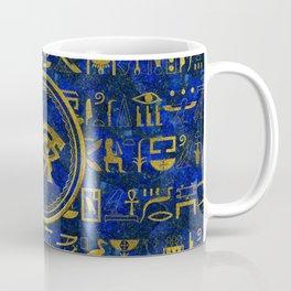 Egyptian Eye of Horus - Wadjet Lapis Lazuli Coffee Mug