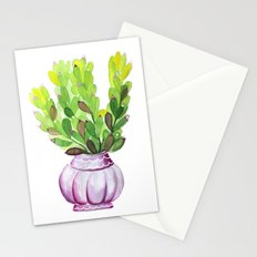 Succulent Vase Stationery Cards