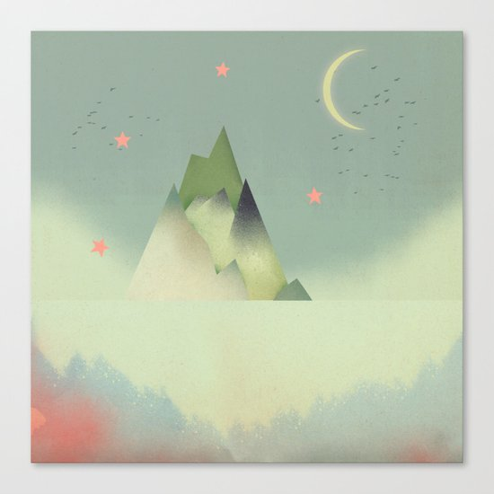 Abstract Cloudscape Canvas Print