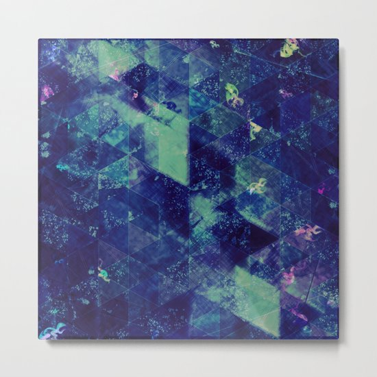 Abstract Geometric Background #20 Metal Print
