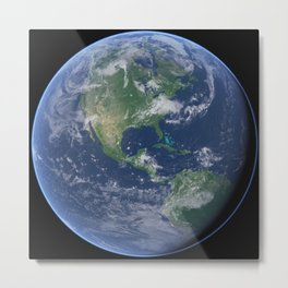 Earth 30 Metal Print