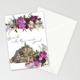 Mont Saint Michel, France Stationery Cards