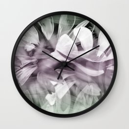 Pink  Exposures Wall Clock