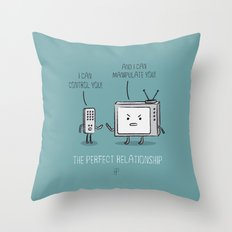 The Perfect Relationship 01 Throw Pillow