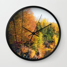 Changing Color Wall Clock