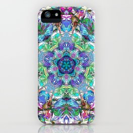 Five Points of Color Abstract iPhone Case