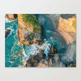 The Gap lagoon Canvas Print