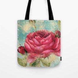 Vintage Flowers #16 Tote Bag