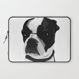 Tucker the Boston Terrier Laptop Sleeve