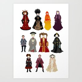 Queen's Closet Art Print
