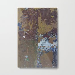Completely Cracked Metal Print