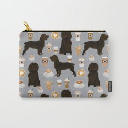 Boykin Spaniel coffee lover foodie dog person gifts for the dog person in your life Carry-All Pouch