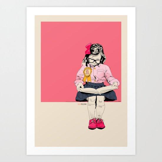 GoodGirl Art Print