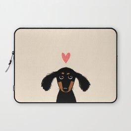 Dachshund Love Laptop Sleeve