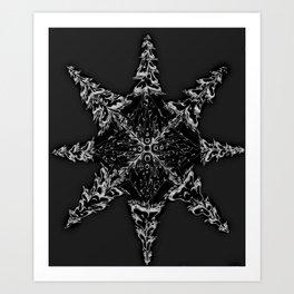 Mountain Dreamin' Mandala: Solar Edition Art Print