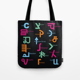 C in Scripts Around the World /I Tote Bag