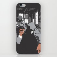 gangster iPhone & iPod Skins featuring The Gangster by Dulevartiano