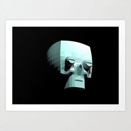 Skeletool Art Print