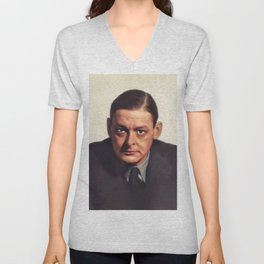 T. S. Eliot, Literary Legend Unisex V-Neck
