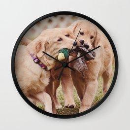 Mine Mine Mine Wall Clock