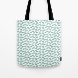 DOTS BLUE AND YELLOW  WATERCOLOUR Tote Bag