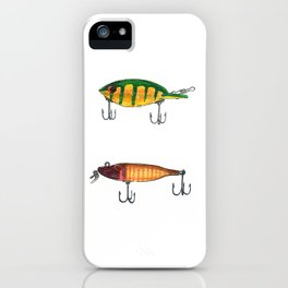 Vintage Fishing Lures 1 iPhone Case