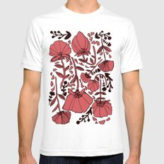 Nature SMALL White Mens Fitted Tee