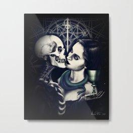 The Last Kiss Metal Print