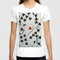 poker T-shirts featuring Poker by Jackie